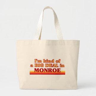 I am kind of a BIG DEAL in Monroe Jumbo Tote Bag