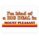I am kind of a BIG DEAL in Mount Pleasant Postcard