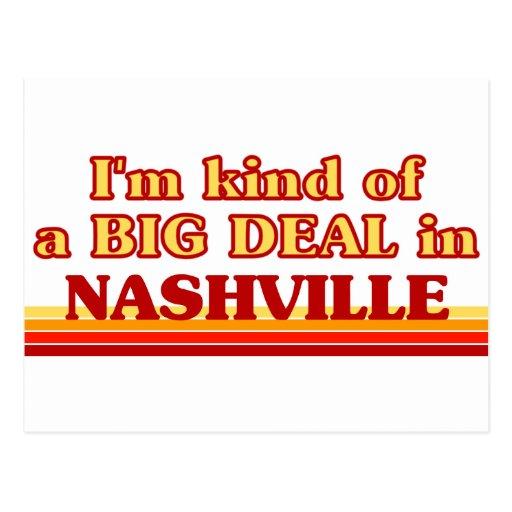 I am kind of a BIG DEAL in Nashville Postcard