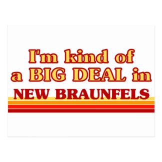I am kind of a BIG DEAL in New Braunfels Postcard
