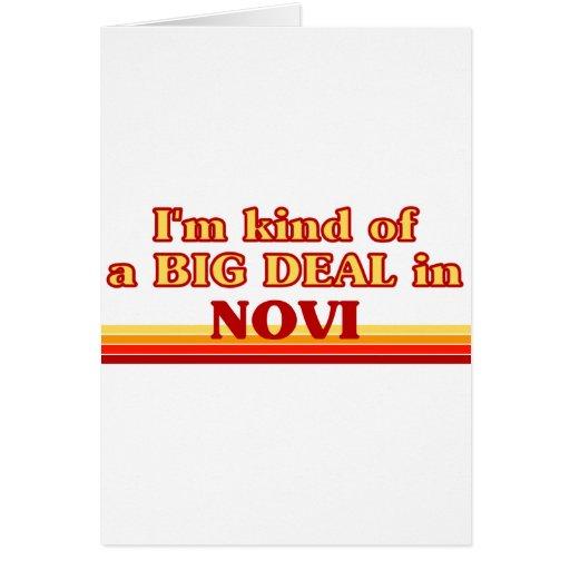 I am kind of a BIG DEAL in Novi Greeting Cards