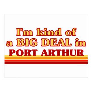 I am kind of a BIG DEAL in Port Arthur Postcard