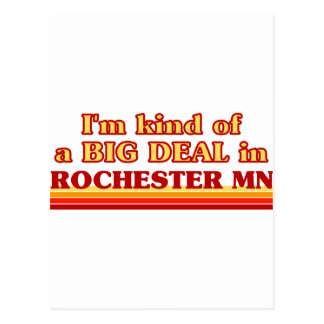I am kind of a BIG DEAL in Rochester Postcards