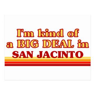 I am kind of a BIG DEAL in San Jacinto Postcard