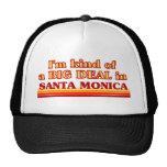 I am kind of a BIG DEAL in Santa Monica Hats