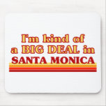 I am kind of a BIG DEAL in Santa Monica Mouse Pad