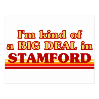 I am kind of a BIG DEAL in Stamford Postcard