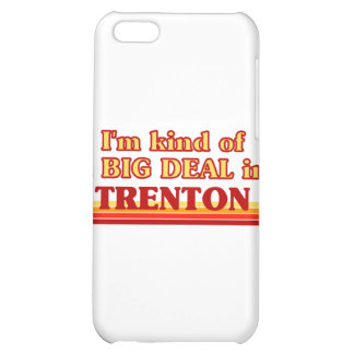 I am kind of a BIG DEAL in Trenton Cover For iPhone 5C