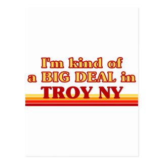 I am kind of a BIG DEAL in Troy Postcard