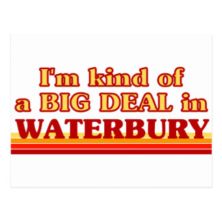 I am kind of a BIG DEAL in Waterbury Postcards