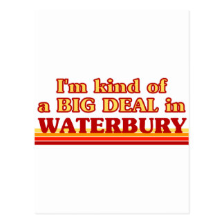 I am kind of a BIG DEAL in Waterbury Post Cards
