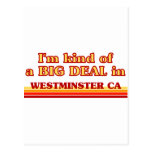 I am kind of a BIG DEAL in Westminster Postcards