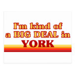 I am kind of a BIG DEAL in York Postcards