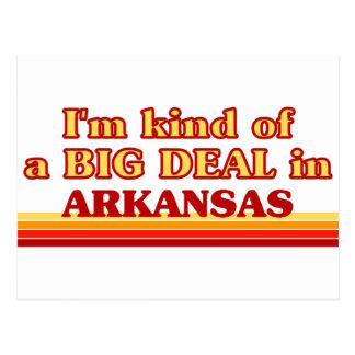 I am kind of a BIG DEAL on Arkansas Post Cards
