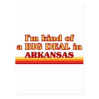 I am kind of a BIG DEAL on Arkansas Postcard