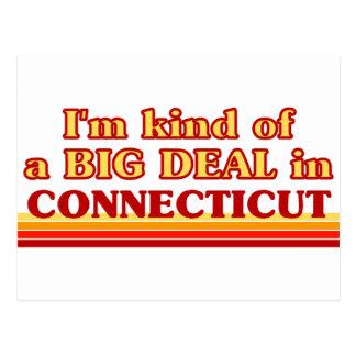 I am kind of a BIG DEAL on Connecticut Postcard