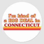 I am kind of a BIG DEAL on Connecticut Stickers