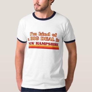 I am kind of a BIG DEAL on New Hampshire T-shirt
