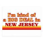 I am kind of a BIG DEAL on New Jersey Postcard