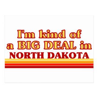 I am kind of a BIG DEAL on North Dakota Postcard