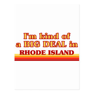 I am kind of a BIG DEAL on Rhode Island Postcard