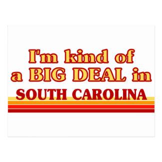 I am kind of a BIG DEAL on South Carolina Postcard