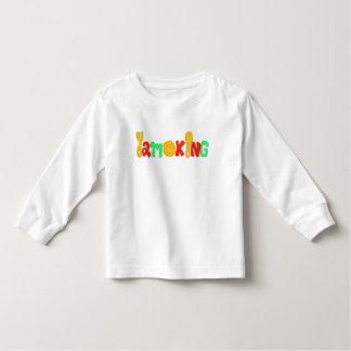 I am king kids long sleeve t-shirts