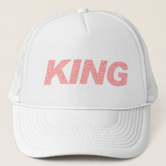 I AM KING (RED) TRUCKER HAT