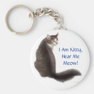 I am Kitty Keychain