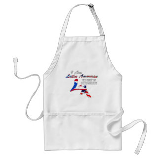 I Am Latin American Adult Apron