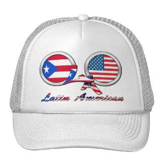 I Am Latin American Boricua Mesh Hat