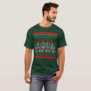 Lawyer Themed I Am Lawyer Christmas Ugly Sweater