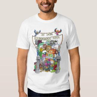 I AM LIBRARY 101- Cartoon Version T-Shirt