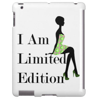 I Am Limited Edition Quote iPad Case