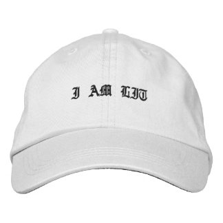 I AM LIT hat