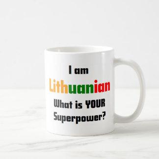 I am Lithuanian Coffee Mug