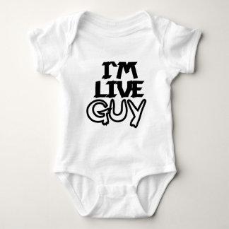 I`Am Live Guy Baby Bodysuit