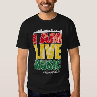 I AM LIVE MUSIC T-Shirt