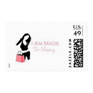 I am made 4 Shopping <3 Postage Stamps