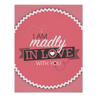 I Am Madly In Love With You Poster