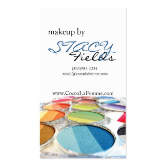 I am Makeup The Sequal Business Cards