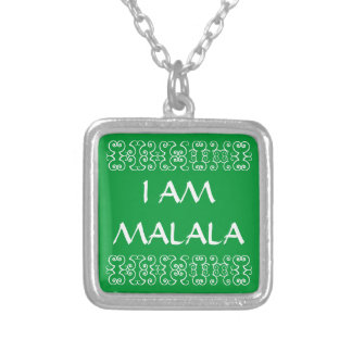 I AM MALALA 4 SQUARE PENDANT NECKLACE