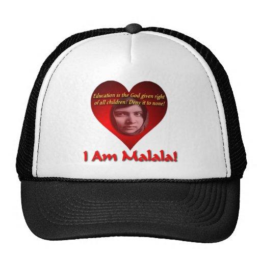 I Am Malala Education Is A God Give Right Mesh Hats