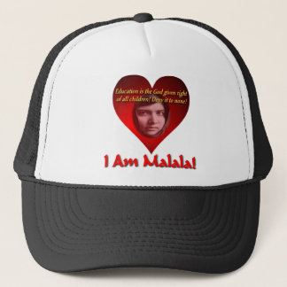 I Am Malala Education Is A God Give Right Trucker Hat