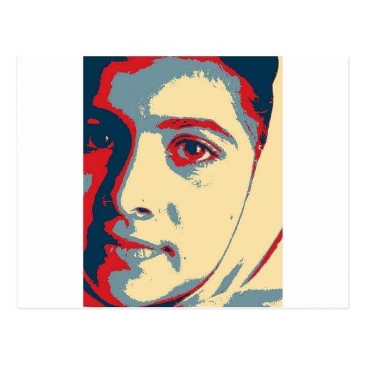 I am Malala shirt Postcard