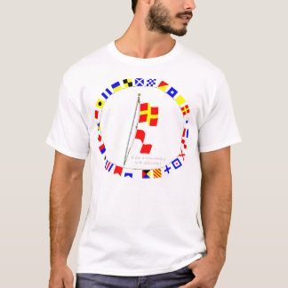 I am maneuvering with difficulty Signal flag Hoist T-Shirt