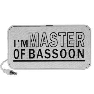 I am master of Bassoon Portable Speaker