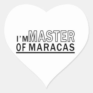 I am master of Maracas Sticker