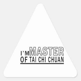 I am master of Tai Chi Chuan Stickers