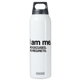 I AM ME 16 OZ INSULATED SIGG THERMOS WATER BOTTLE